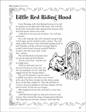 It's just an image of Geeky Little Red Riding Hood Story Printable