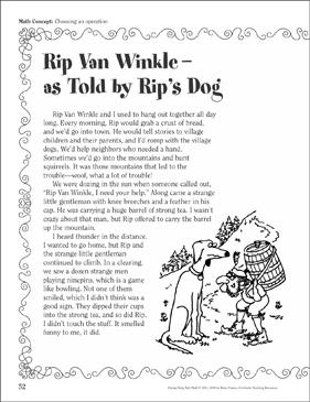 rip van winkle short story