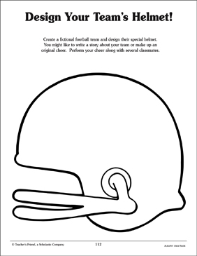Football Helmet Pattern