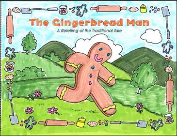 the gingerbread man printable mini books