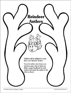 Priceless image throughout reindeer printable template