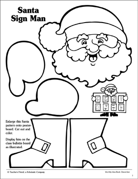 picture regarding Santa Claus Patterns Printable identify Santa Indication Behavior Printable Charts, Signs and symptoms and Bulletin Community forums