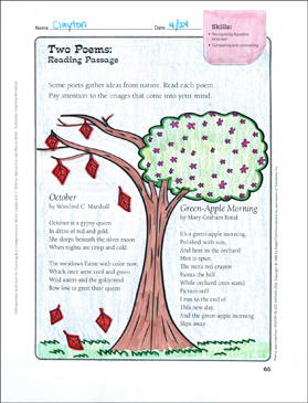Two poems differentiated comprehension activity printable texts two poems differentiated comprehension activity ibookread ePUb