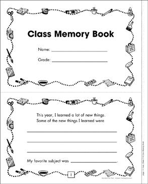 Class Memory Book