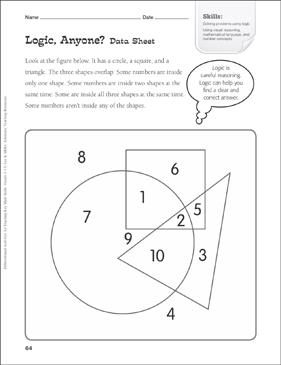 logic anyone venn diagram tiered math practice printable rh teachables scholastic com Venn Diagram Logical Reasoning Venn Diagram Logical Reasoning
