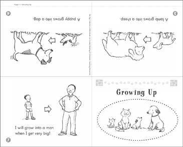 image relating to Printable Mini Books titled Escalating Up Printable Mini-Guides and Abilities Sheets