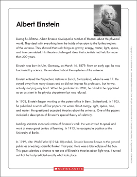 graphic regarding Einstein's Riddle Printable titled Albert Einstein: Words and phrases Organizer Printable Texts and