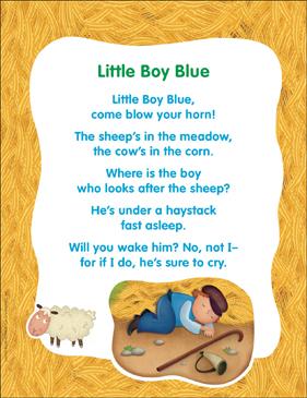 Little Boy Blue Clic Nursery Rhyme
