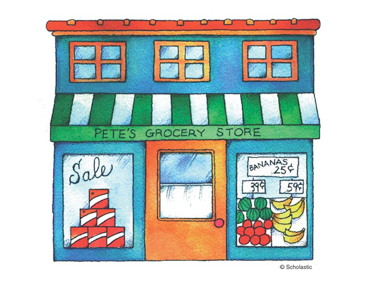 Pete's Grocery Store | Printable Clip Art and Images