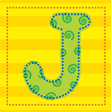 Letter J Printable Clip Art And Images