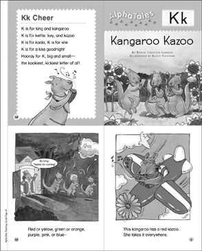 Kangaroo kazoo letter k alpha tales mini book printable mini books kangaroo kazoo letter k alpha tales mini book spiritdancerdesigns