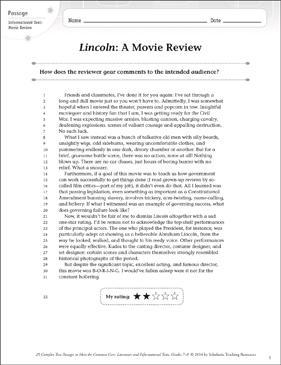 lincoln movie essay