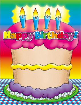Birthday Cake Chart Printable Charts And Signs