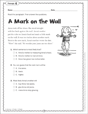 Printable Reading Comprehension Worksheets