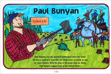 Paul Bunyan Tall Tale Printable