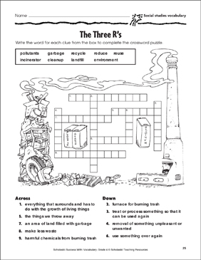 environment vocabulary worksheet