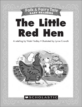 the little red hen mini book activities printable mini books and graphic organizers. Black Bedroom Furniture Sets. Home Design Ideas