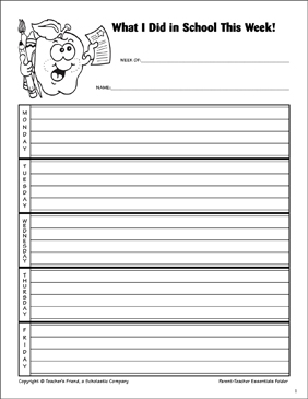 photo regarding Student Agenda Printable referred to as scholar plan printable -