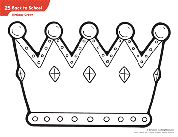 It's just an image of Agile Crown Pattern Printable