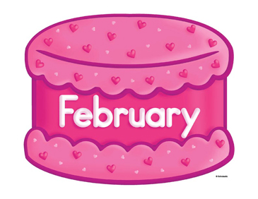 February Birthday Cake Clip Art Printable Clip Art And