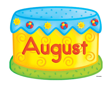August Birthday Cake Clip Art | Printable Clip Art and Images