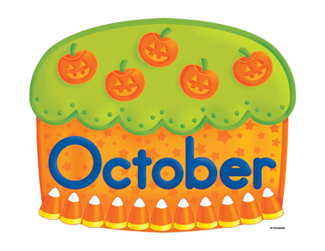 October Birthday Cake Clip Art | Printable Clip Art and Images