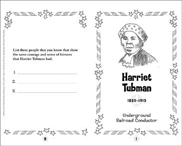 Harriet Tubman: Famous American Mini-Book