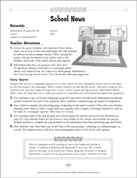 expository writing story