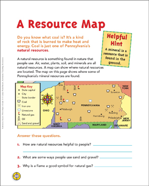 a resource map map skills