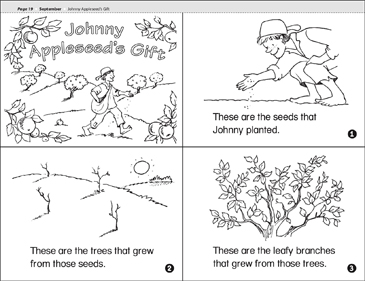 johnny appleseed folktale story