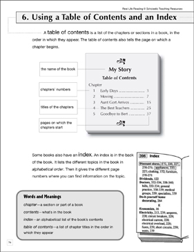 Table of Contents | Comprehension worksheets, Worksheets and ...