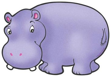 Hippopotamus   Printable Clip Art and Images