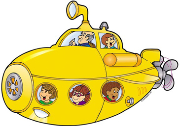 Yellow Submarine | Printable Clip Art and Images