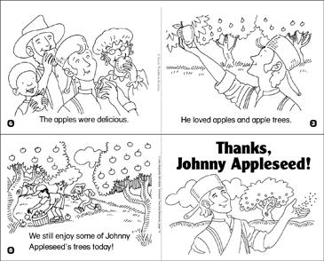 Thanks Johnny Appleseed Printable Mini Books