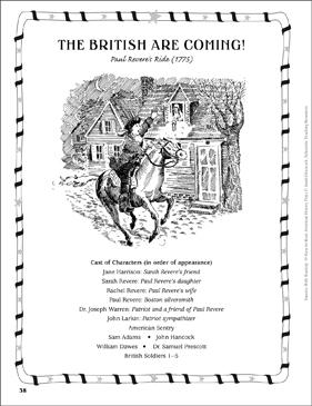 Paul Revere'-s Ride   Worksheet   Education.com