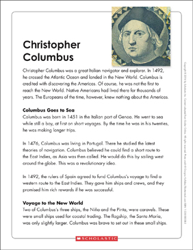 picture about Christopher Columbus Printable Activities titled Christopher Columbus: Terms Organizer Printable Picture