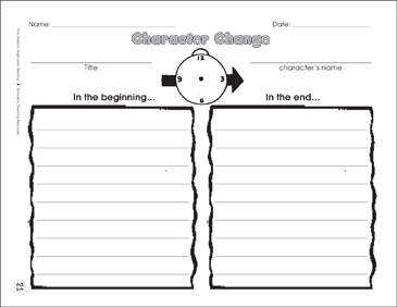 Character change graphic organizer printable graphic organizers character change graphic organizer ccuart Gallery