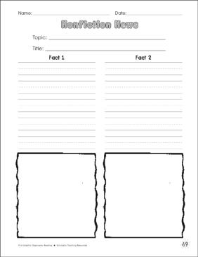 Graphic Organizer Templates | Nonfiction News Graphic Organizer Printable Graphic Organizers And