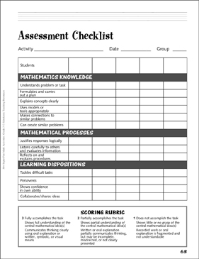 Student Evaluation Forms   Self Evaluation Form Assessing Student Math Learning Printable