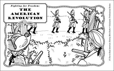 The American Revolution (1775 1783) Printable Mini Books Worksheets American Revolution War Free Printables The American Revolution (1775 1783)