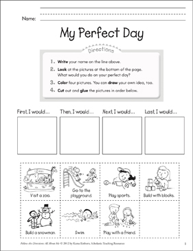 my perfect day ideas