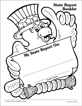 State report booklet report template printable book reports state report booklet report template maxwellsz