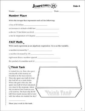 Independent practice grade 6 math jumpstart 26 printable skills independent practice grade 6 math jumpstart 26 ccuart Gallery